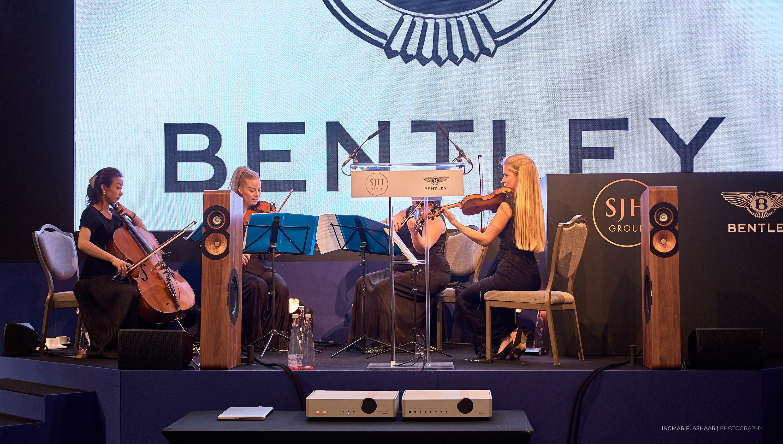 "Boenicke Audio at ""Exploring the Extraordinary – 100 Years of Bentley Motors"""